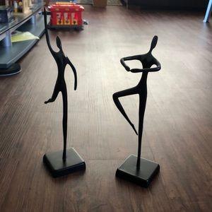 Dancer sculptures